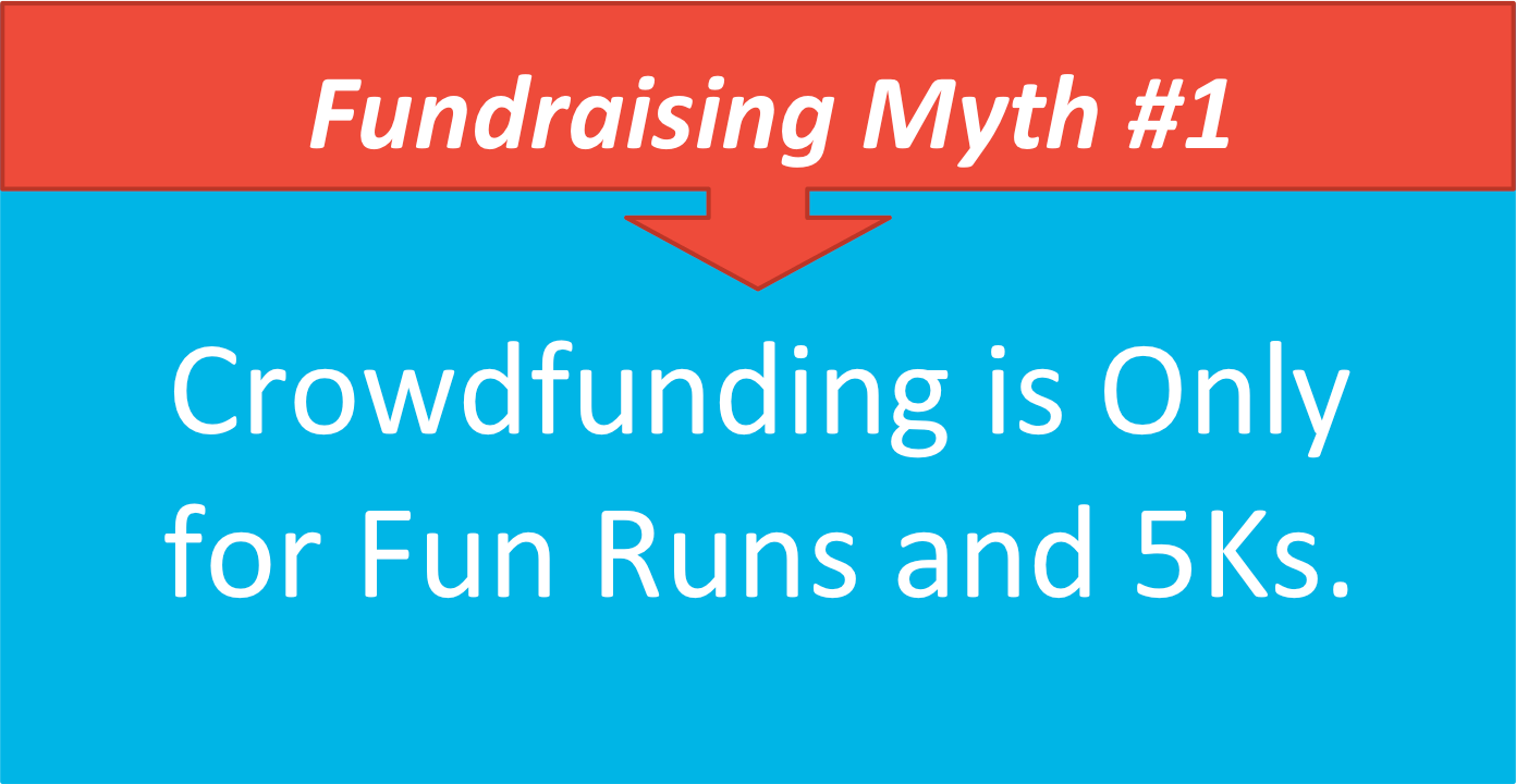 Myth #1: Crowdfunding is only for fun runs and 5Ks
