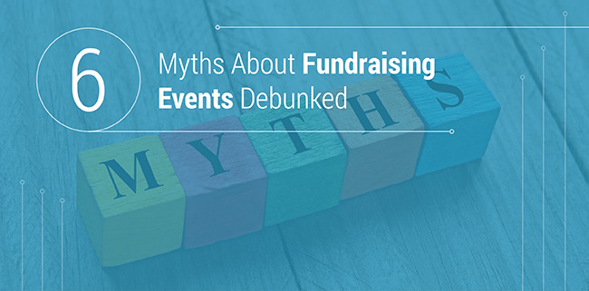 We've debunked these myths about fundraising events.