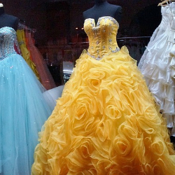 A prom dress drive is a great high school fundraising idea.