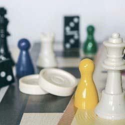 Plan a game night as one of your fundraising ideas for churches and religious organizations.