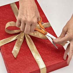 Start a gift-wrapping service to help raise money for your church!