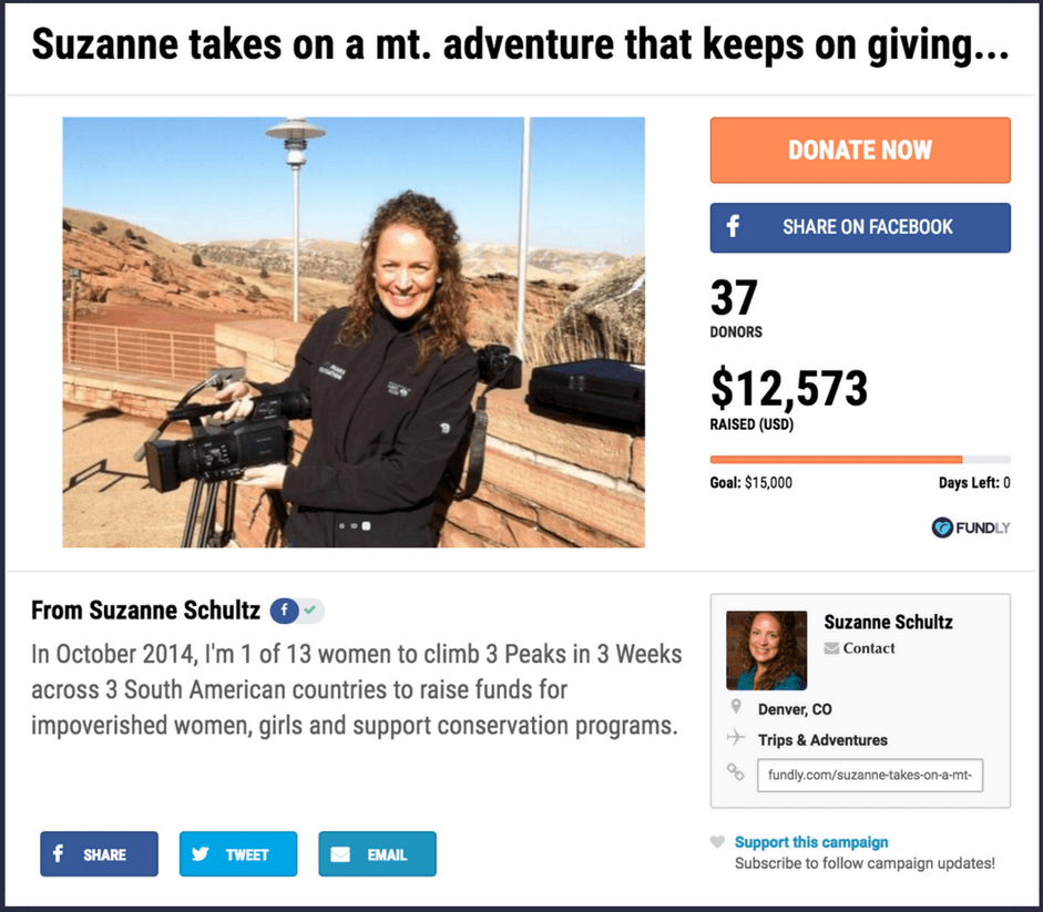 Fundraising ideas for adventures and trips