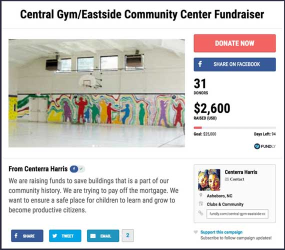 Fundraising Ideas for Organizations and Clubs: Eastside Community Center Fundraiser.