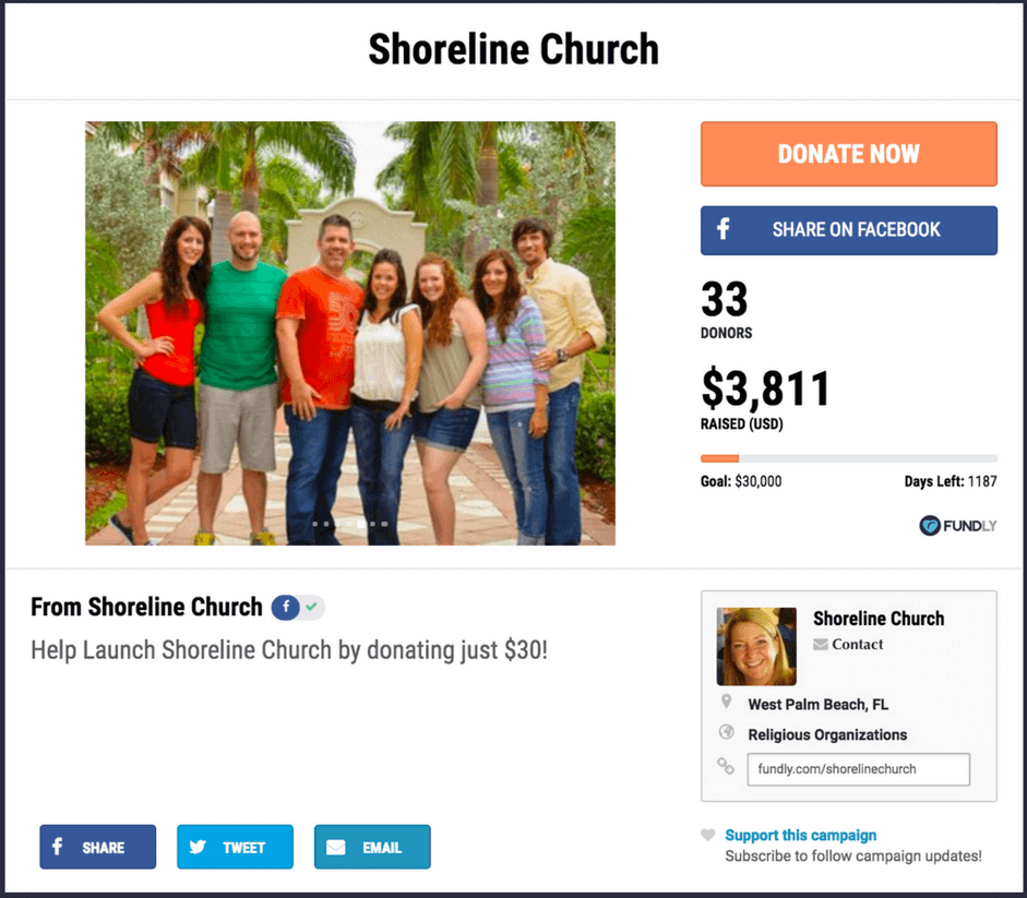Fundraising ideas for churches and religious organizations