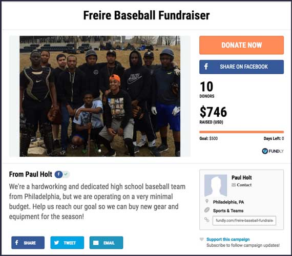 48 interactive fundraising ideas for sports and teams raise money now fundraising ideas for sports and teams freire baseball fundraiser thecheapjerseys