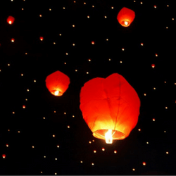 Hold a balloon or lantern release to raise money.