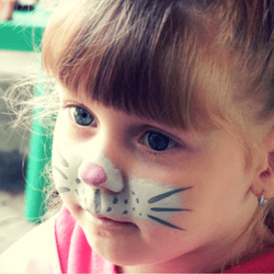 Host a kids' face painting event to raise money for your walk, run, or ride