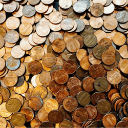 Host a penny drive to raise money for your run, walk, or ride