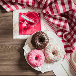 Sell doughnuts or other snacks to raise money for your club or organization