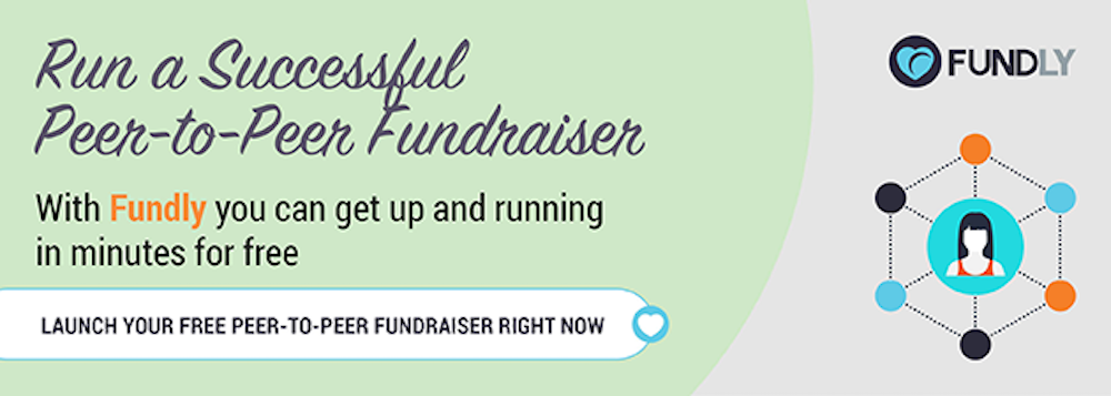 Start your peer-to-peer fundraiser today