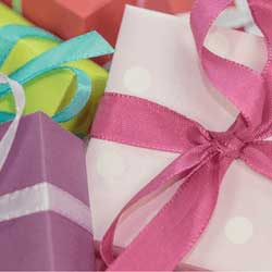 Offer gift-wrapping services to raise money for your cause!