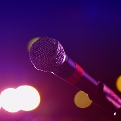 Hold a karaoke night as a fun way to raise funds.