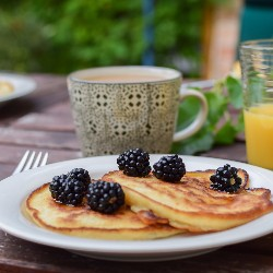 Host a pancake breakfast as a way to raise funds for your fraternity or sorority.