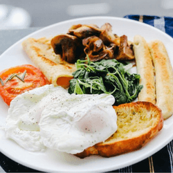 Host a hospital breakfast to raise money for your medical fundraiser.