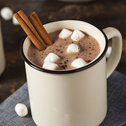 Sell hot chocolate to your congregants as a church fundraising idea.