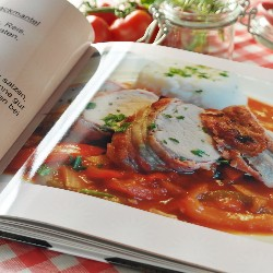 Create a cookbook to raise funds for your family.