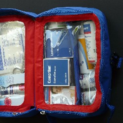 Sell first aid kits as a fundraising idea for military and veterans.