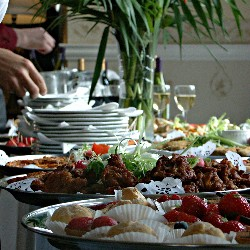 Hosting house party is a simple and effective way to individuals to raise funds.