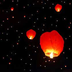 Balloon and lantern releases are a great way to raise money.