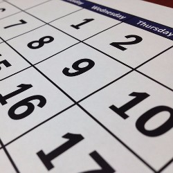 You can sell custom calendars to raise money for your trip.