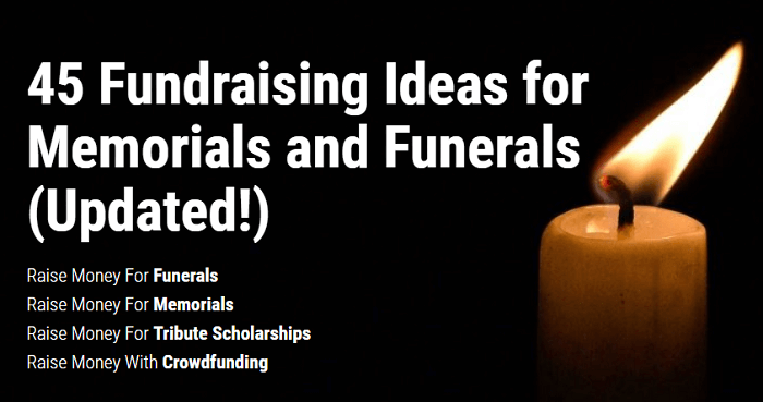 45 Fundraising Ideas For Memorials And Funerals Raise Money Quickly