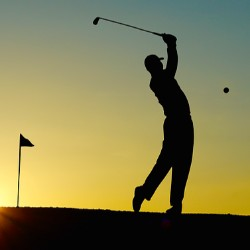 Host a golf tournament to raise money.