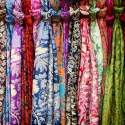 Consider making and selling scarves as a fundraising ideas for health or medical expenses.