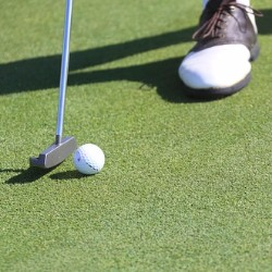 Hold a golf tournament to fundraise for health and medical expenses.