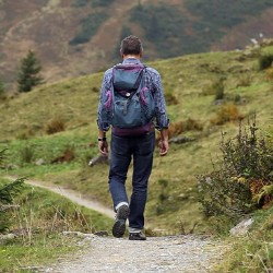 Take a guided hike as a fundraising idea for medical and health expenses.
