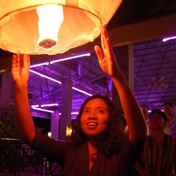 As a fundraising idea, try a lantern release.