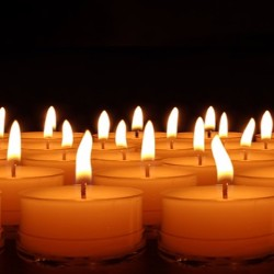 Sell candles to raise money to cover funeral costs.
