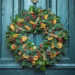 Sell wreaths and ornaments to raise money in honor of your loved one.
