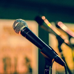 Hold a karaoke night as a way to raise funds to cover your own or a loved one's medical expenses.