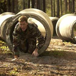 Create an obstacle course to fundraise.