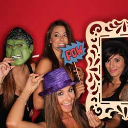 Setting up a photo booth is a great fundraising idea!