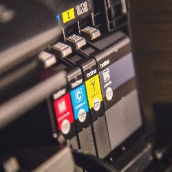 Collect ink cartridges to recycle and collect a fee for what you bring in.