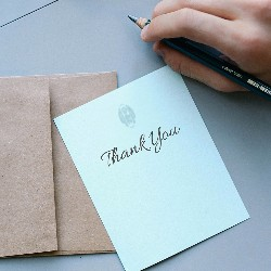 Try different fundraising ideas for churches and religious organizations like sending out appreciation grams.