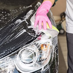 You can host a car wash as a way for your fraternity or sorority to raise funds.