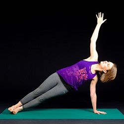Teach a yoga class to raise money for health and medical expenses.