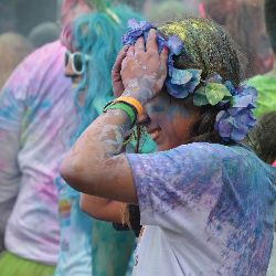 A color run or walkathon can spice up your event.