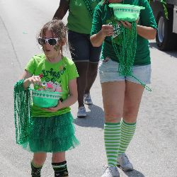 A shamrock walkathon is a great variation on a theme!