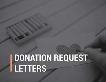 Learn more about fundraising letters with this donation request letters.