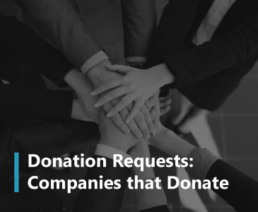 See which companies give back to nonprofits in order to maximize your donation requests.