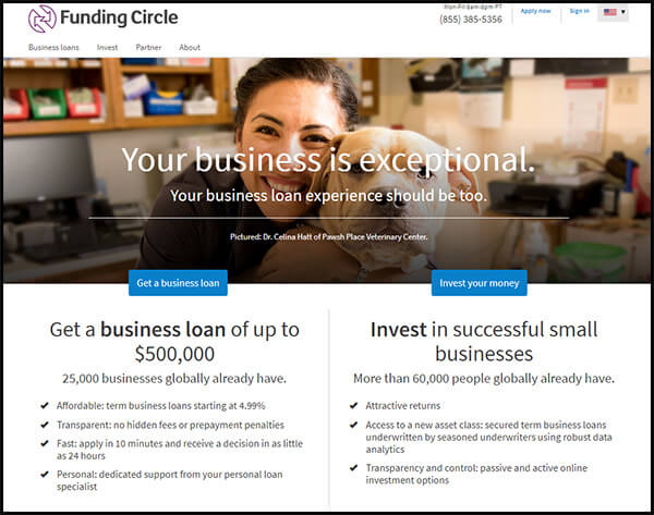 Here's how the Funding Circle crowdfunding site works.
