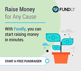 Start a crowdfunding campaign to raise for any cause.