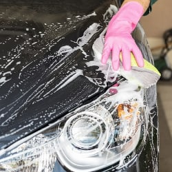 Start a car wash as a way to raise funds.
