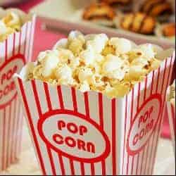 Sell popcorn as a way to raise funds for your cause.