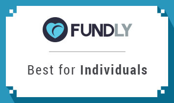 Fundly is the best crowdfunding site for individuals.