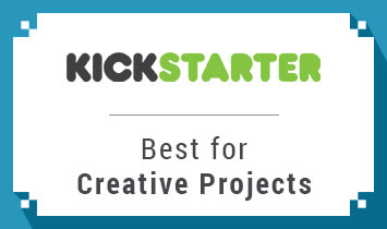 Kickstarter is a top choice for creative project crowdfunding.