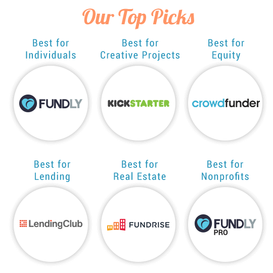 Top Crowdfunding Websites for All Types of Crowdfunding